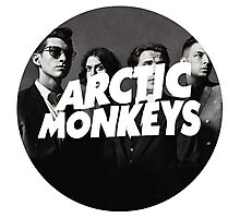 Arctic Monkeys Circle Photographic Print