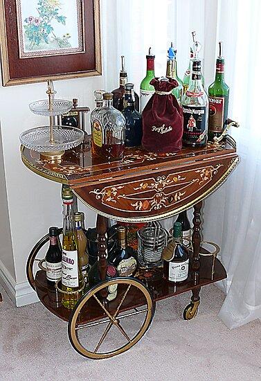 mini bar wagon by chowini redbubble