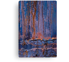 Blue Rust #1 Canvas Print