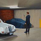 Harbinger III, Oil on Linen, 2012. by Jason Moad