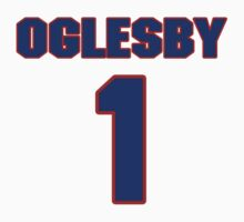 National football player Cedric Oglesby jersey 1 by imsport