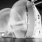 The Falkirk Wheel In Motion by Dan Squires