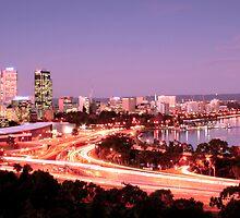 Perth Twighlight by Clinton Barnes