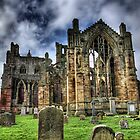 Melrose Abbey by Dan Squires