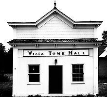 Viola Town Hall by © Joe  Beasley IPA