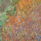 Tree of Life (small section of large batik) by Juliana Warne