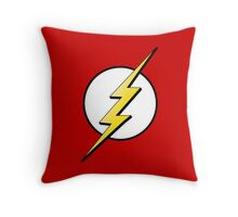 The Flash Logo Throw Pillow