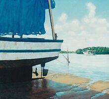 Ol' Blue Tarp by Cary McAulay