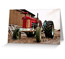 """The Massey Ferguson"" Greeting Card"
