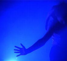 blue dance card by hipsync