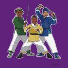 3 Ninjas by Eddie Mauldin