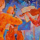 A Little Night Music, figurative by Gregory Pastoll