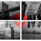 I heart NYC by Jeff Davies