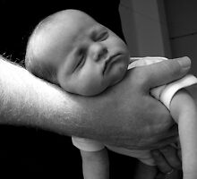 In Daddy's hands 2 by Catherine Beales