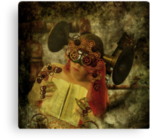 The clockwork never forgets Canvas Print
