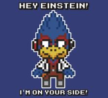Falco Lombardi -Hey Einstein! by geekmythology