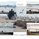 The Man, the Birds, the Bay........ by Ozcloggie
