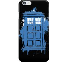 Painted in Blue and White iPhone Case/Skin