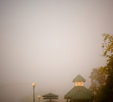 Foggy Overlook by doorfrontphotos