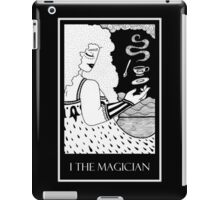 The Magician (card form) iPad Case/Skin
