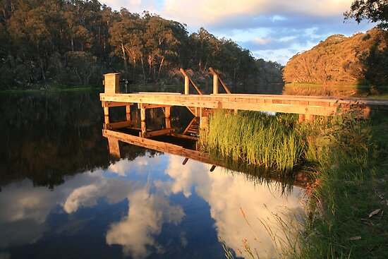 Lake Catani, Mt Buffalo, Victoria, Australia by Michael Boniwell