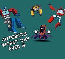 AUTOBOTS WORST DAY EVER !!! by iiincomiing