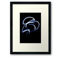 Blue Streak Framed Print
