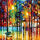 Blue Reflections — Buy Now Link - www.etsy.com/listing/214281704 by Leonid  Afremov