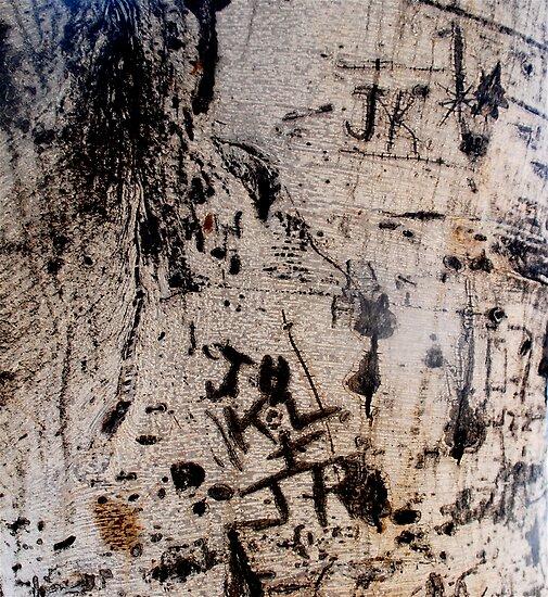Graffiti Tree by Julie Marks