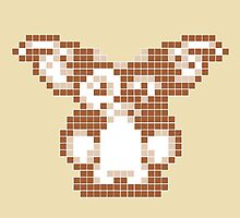"Gremlins ""Don't Feed After Midnight."" Gizmo Movie 8-bit by CanisPicta"