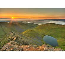 Scales Tarn from the Edge Photographic Print