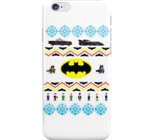 Ugly Batman Christmas Sweater iPhone Case/Skin