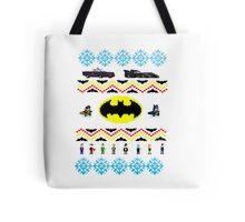 Ugly Batman Christmas Sweater Tote Bag
