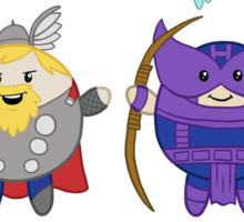 Chubbies Avengers! Sticker