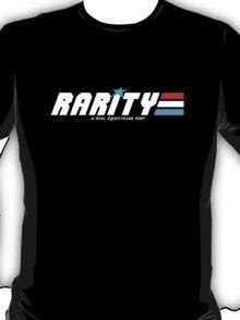 Rarity: A Real Equestrian Pony (Borderless Version) T-Shirt