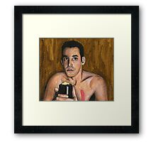 Bewitched, Bothered and Bewildered - Xander - BtVS Framed Print