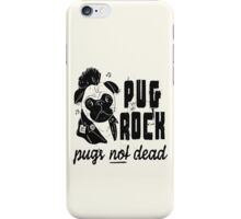 Pug Rock iPhone Case/Skin