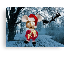 Topo Gigio CHRISTMAS SURPRISE PICTURE AND OR CARDS,PRINTS ECT Canvas Print