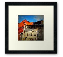 Las Casas Framed Print