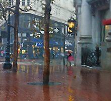 Market Street Corner Lights by David Denny