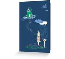 Cloud Seven Greeting Card