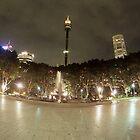 Hyde Park & Centrepoint Tower, Sydney, Australia by muz2142
