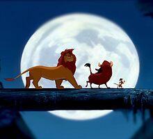 Simba, Pumba, and Timon  by kiddruba