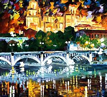 Spain, Salamanca — Buy Now Link - www.etsy.com/listing/209940402 by Leonid  Afremov