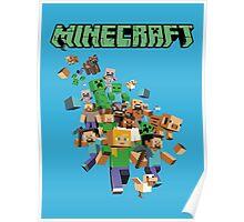Minecraft love Poster
