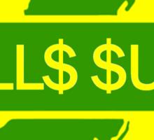 New Jersey TOLL$ $UCK Sticker