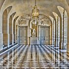 Versailles Palace Hallway, France by Elaine Teague