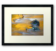 Golden Refuge Framed Print