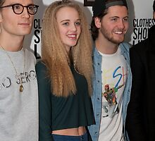 Celebrities at the Clothes Show Live 2014 in Birmingham by Keith Larby