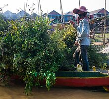 Daily Life at Kampong Phluk Floating Village by jaymephoto